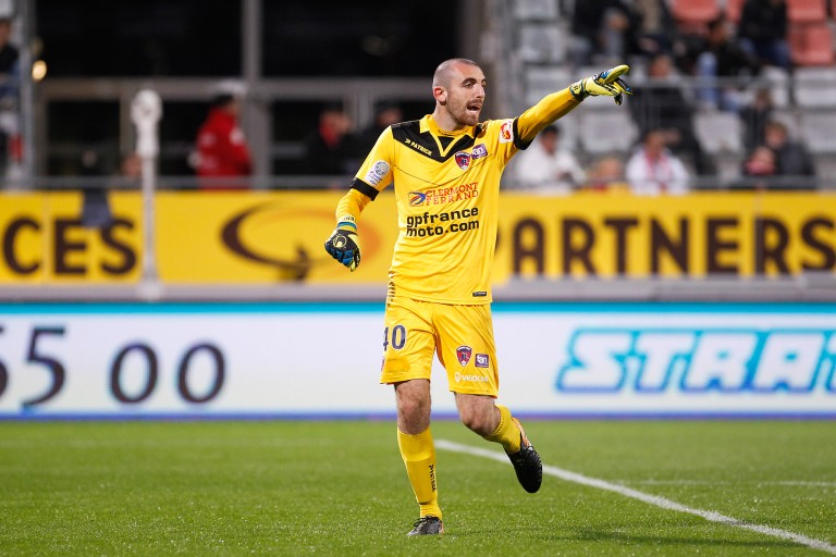 Paul Bernardoni, gardien de but des Girondins de Bordeaux.