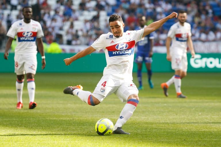 Rafael, défenseur de l'OL.