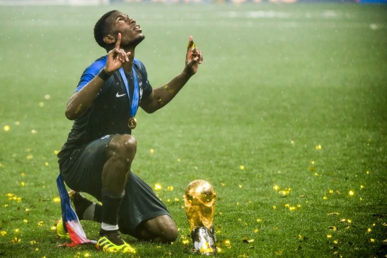 Paul Pogba, Champion du monde 2018