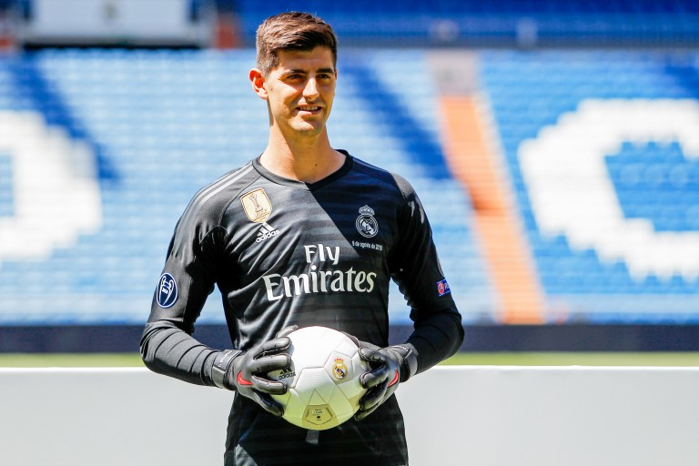 Thibaut Courtois était dans les cages du Real Madrid pour la première fois