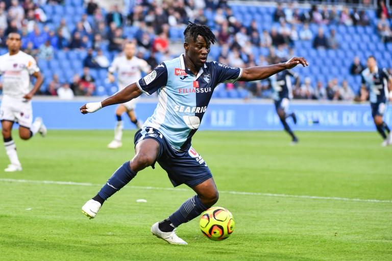 Ebenezer Assifuah, attaquant du Havre AC visé par l' ASSE.