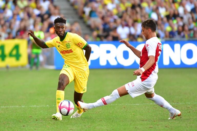 Enock Kwateng, défenseur du FC Nantes.