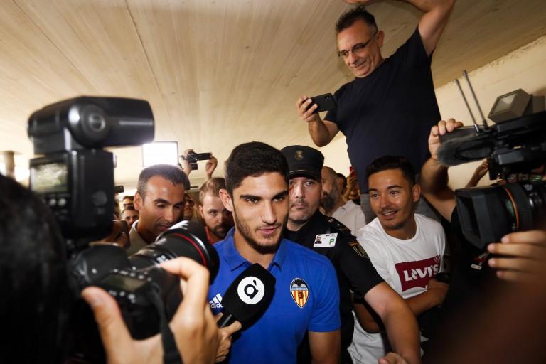 Gonçalo Guedes a été définitivement transféré du PSG à Valence.