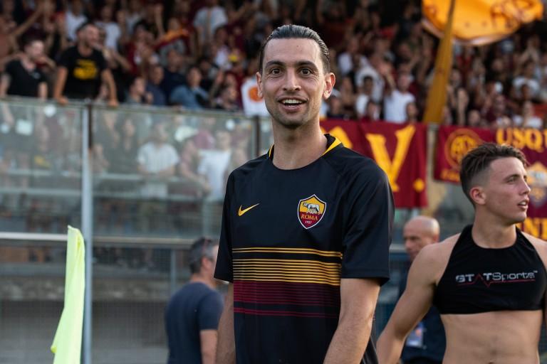 Javier Pastore, milieu de terrain de l'AS Rome.