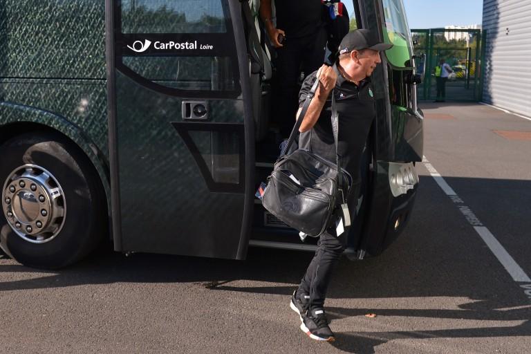 Jean-Louis Gasset , le coach de l' ASSE serait intéressé par les services de Sergi Palencia.
