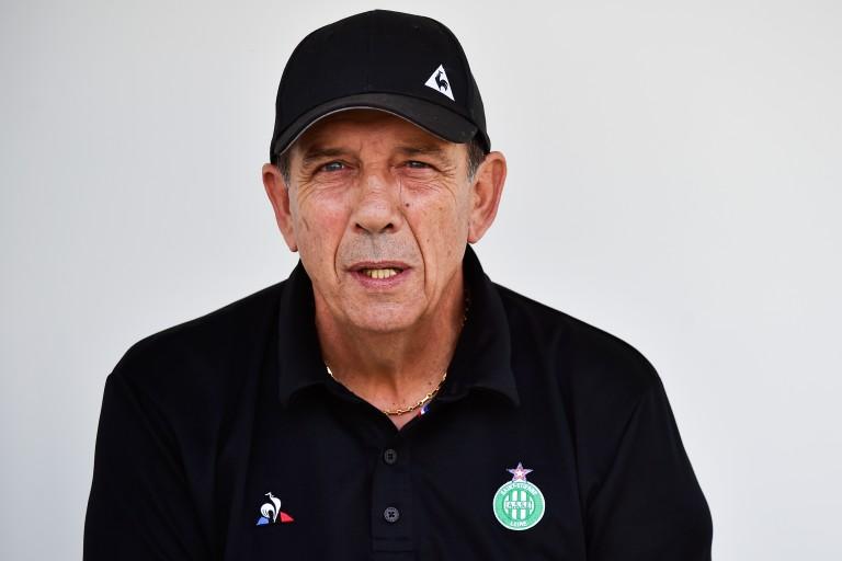 Jean-Louis Gasset, entraîneur de l'ASSE.