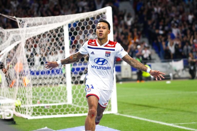 Memphis Depay a inscrit un doublé sur la pelouse de Toulouse