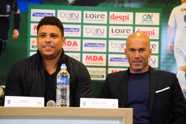 Ronaldo explique la démission de Zidane par le désir de briguer d'autres challenges