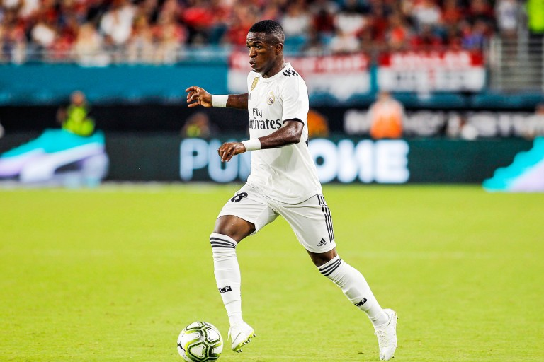 Vinicius Junior impressionne avec le Real Madrid.