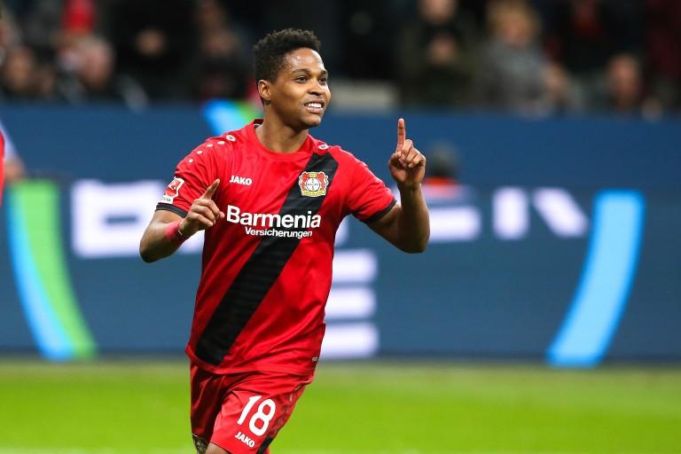 Wendell, latéral gauche du Bayer Leverkusen.