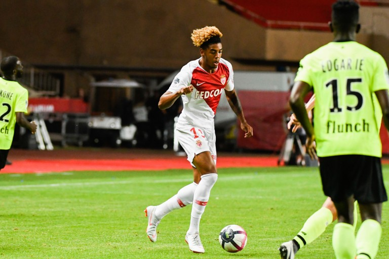 Willem Geubbels, attaquant de l'AS Monaco.