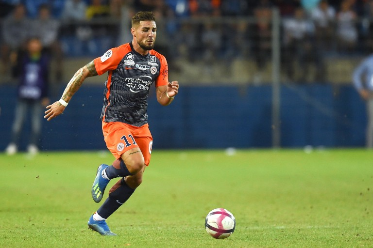 Andy Delort, attaquant de Montpellier HSC.
