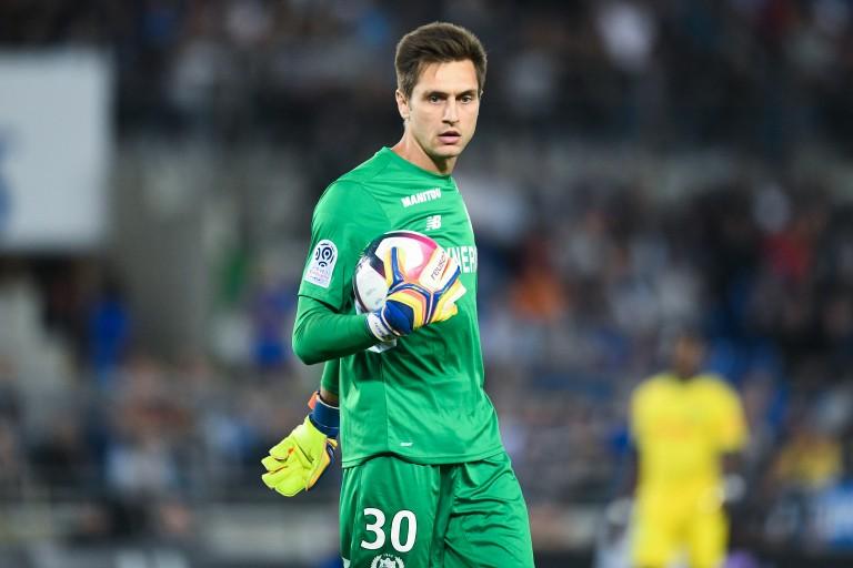 Ciprian Tatarusanu, gardien de but du FC Nantes.