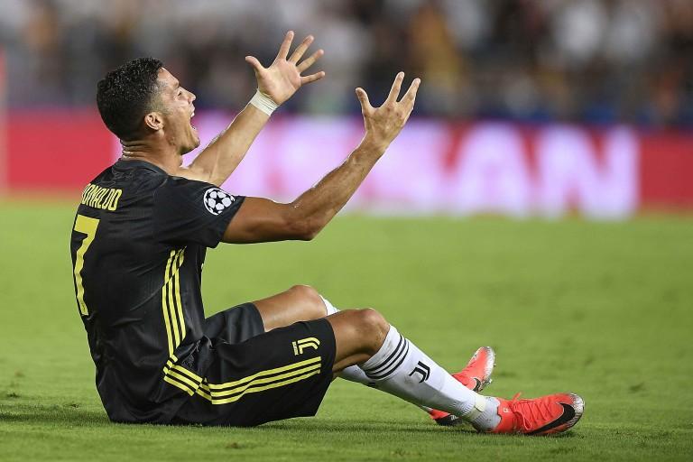 Juventus Turin : Cristiano Ronaldo mécontent d'avoir été remplacé pendant le match contre le Milan AC