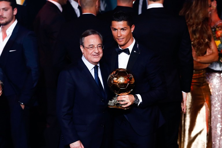 Florentino Perez n'aurait pas recruté Cristiano Ronaldo au Réal Madrid