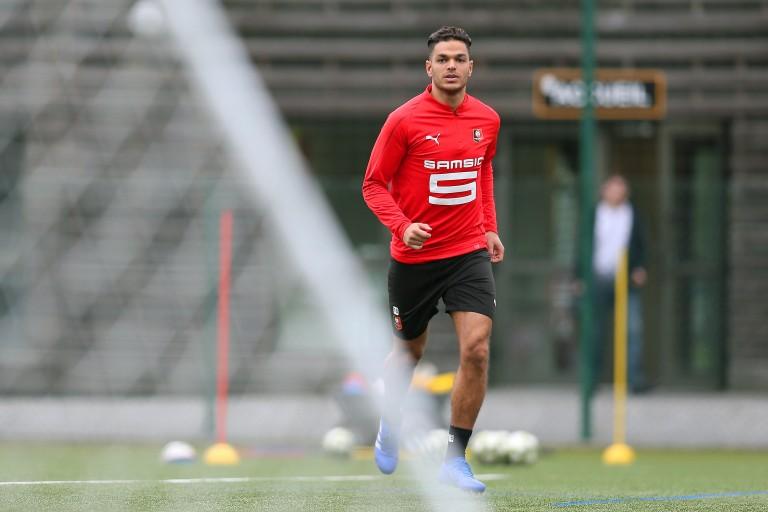 Hatem Ben Arfa , attaquant du Stade Rennais intéressé par le jeu de l' ASSE.
