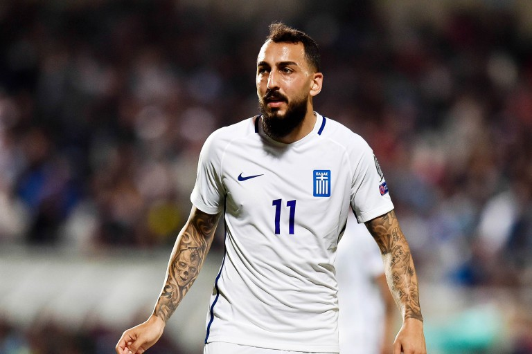 Le Benfica Lisbonne pourrait solliciter le prêt de Kostas Mitroglou