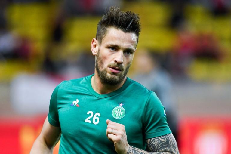 Mathieu Debuchy, défenseur de l' ASSE de retour de suspension.