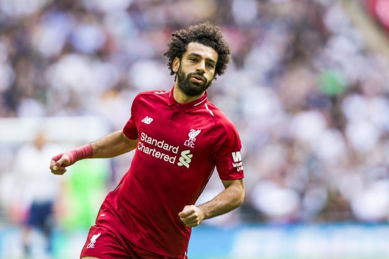 Mohamed Salah, attaquant égyptien de Liverpool.