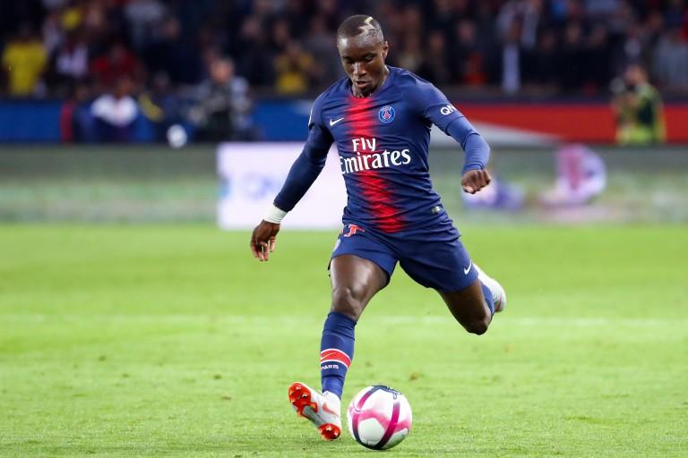 Moussa Diaby, milieu offensif du PSG.