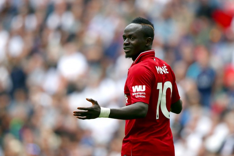 Sadio Mane évoque la force de Liverpool.