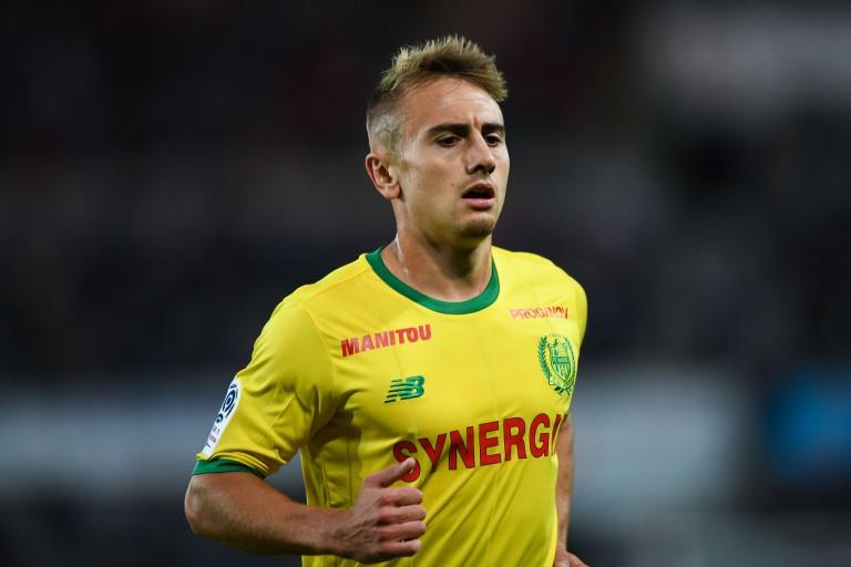 Valentin Rongier, capitaine du FC Nantes.