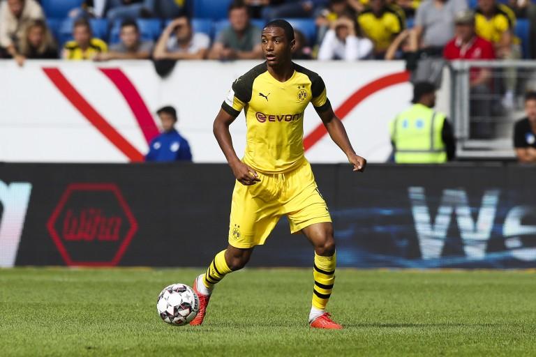 Abdou Diallo, défenseur central du Borussia Dortmund