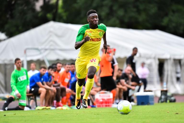 Alexis Alégué, ailier du FC Nantes.