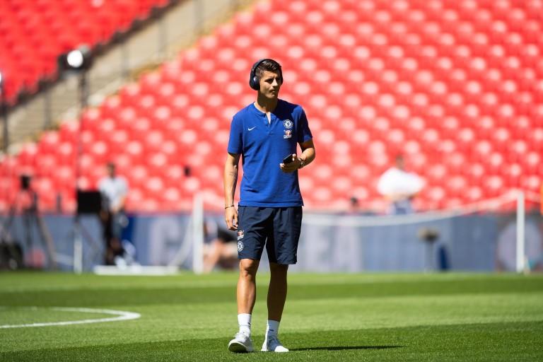 Alvaro Morata prêté à l'Atletico Madrid.