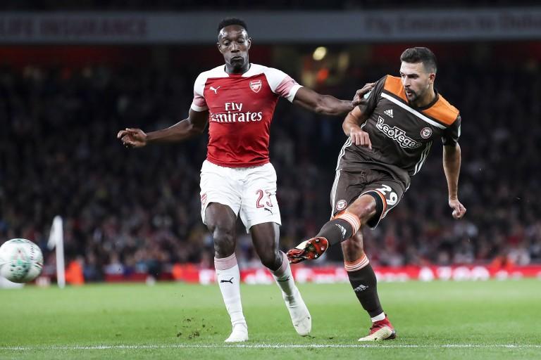 Danny Welbeck, attaquant à Arsenal.