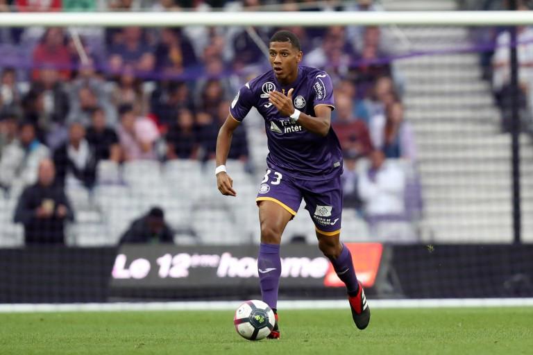 Jean-Clair Todibo, défenseur central au Toulouse FC.