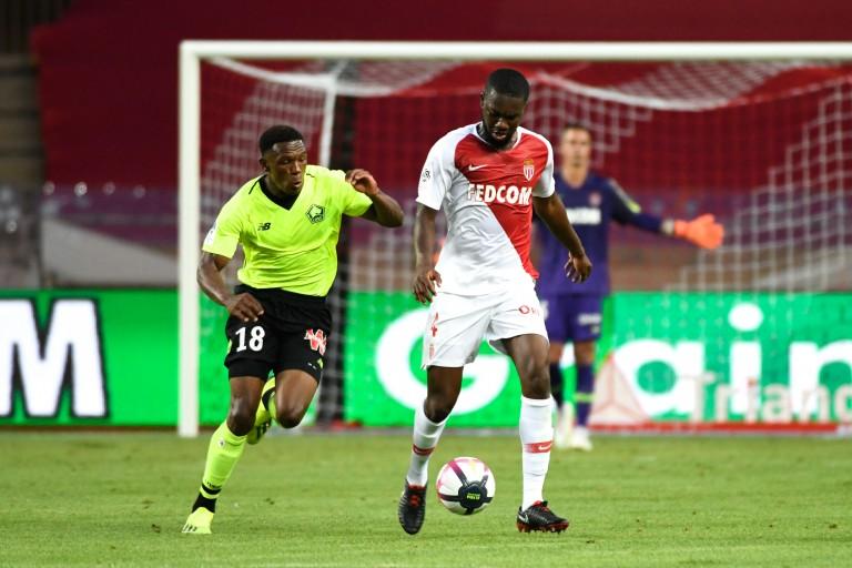 Jean-Eudes Aholou prêté par l'AS Monaco à l' ASSE.
