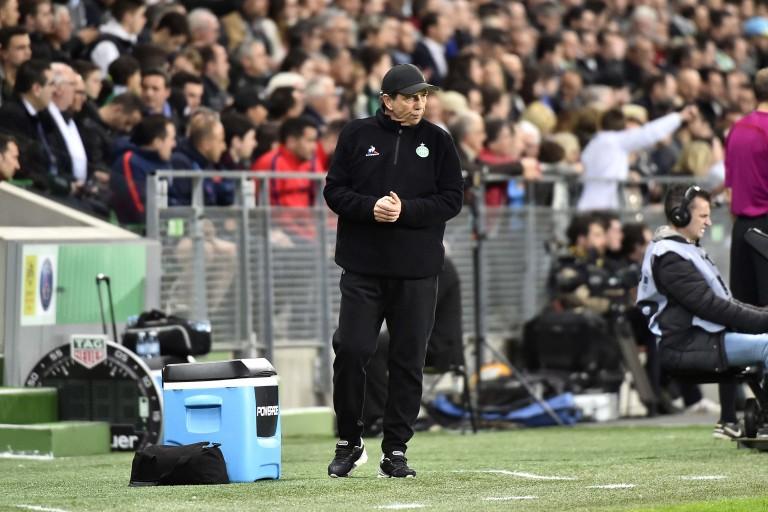 Jean-Louis Gasset, coach de l'ASSE
