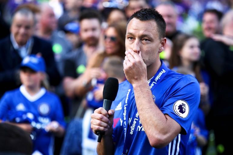 John Terry, emblématique défenseur de Chelsea.