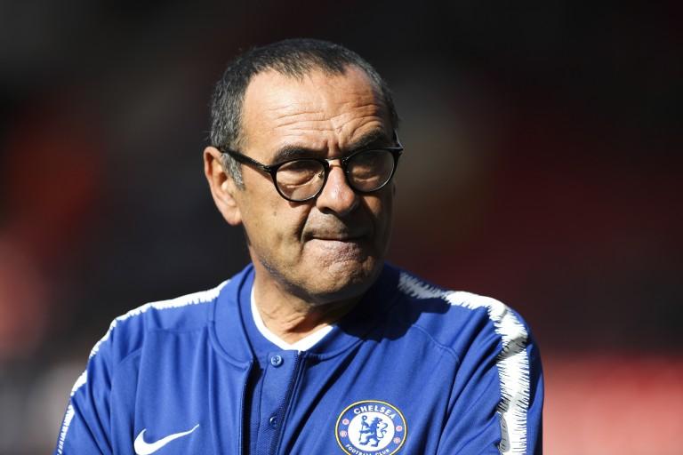 Maurizio Sarri pourrait quitter Chelsea cet été pour rejoindre la Juventus.