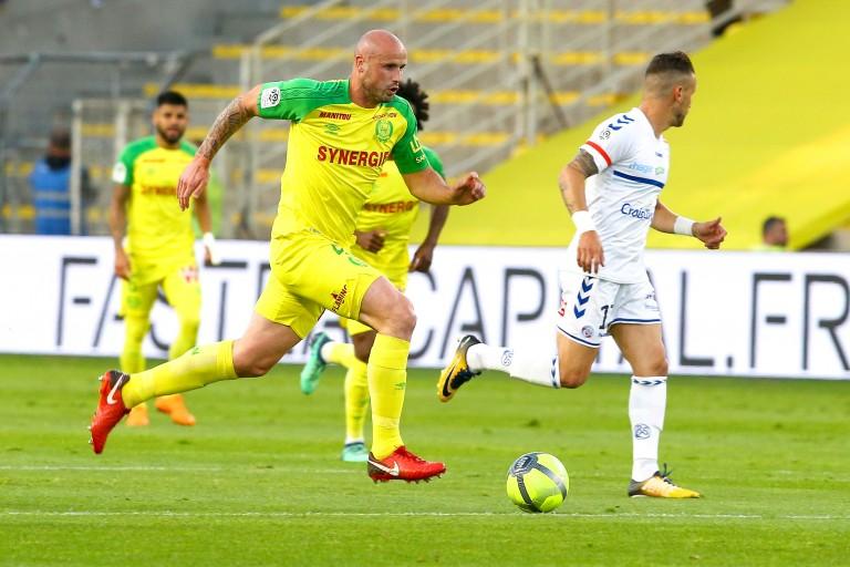 Nicolas Pallois, unique buteur du derby entre le FC Nantes et les Girondins de Bordeaux.