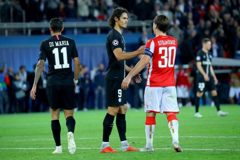 Psg Letoile Rouge De Belgrade Menace Lequipe