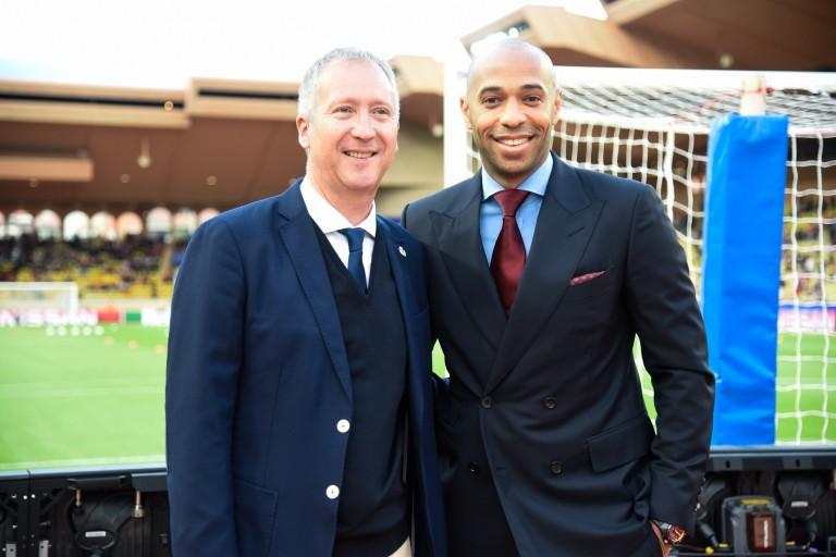 Vadim Vasilyev et Thierry Henry limogés de l'AS Monaco.