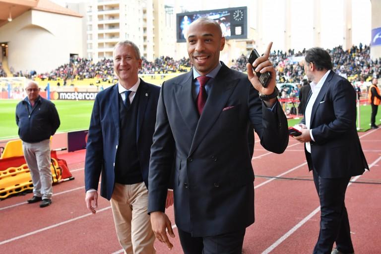 Thierry Henry, nouvel entraîneur de l'AS Monaco.