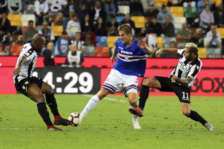 Joachim  Andersen  défenseur de Sampdoria