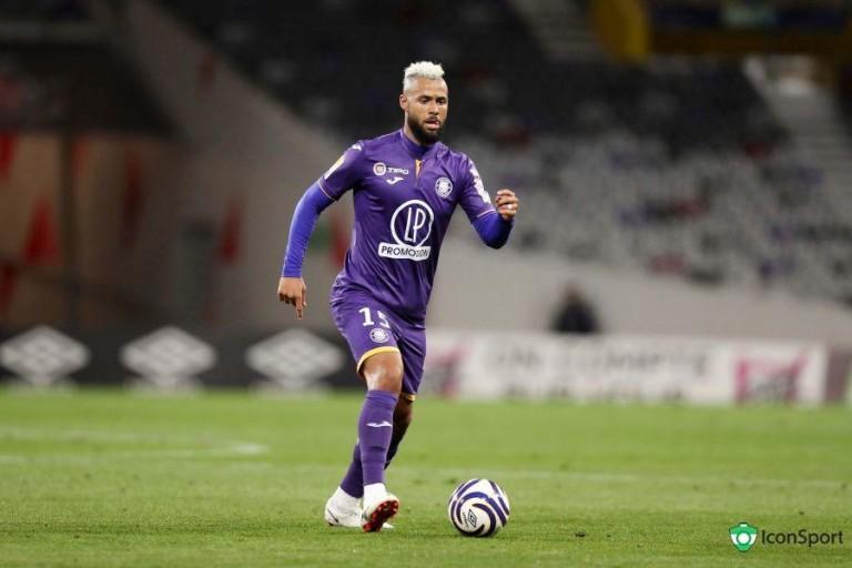 John Bostock, milieu de terrain au Toulouse FC.