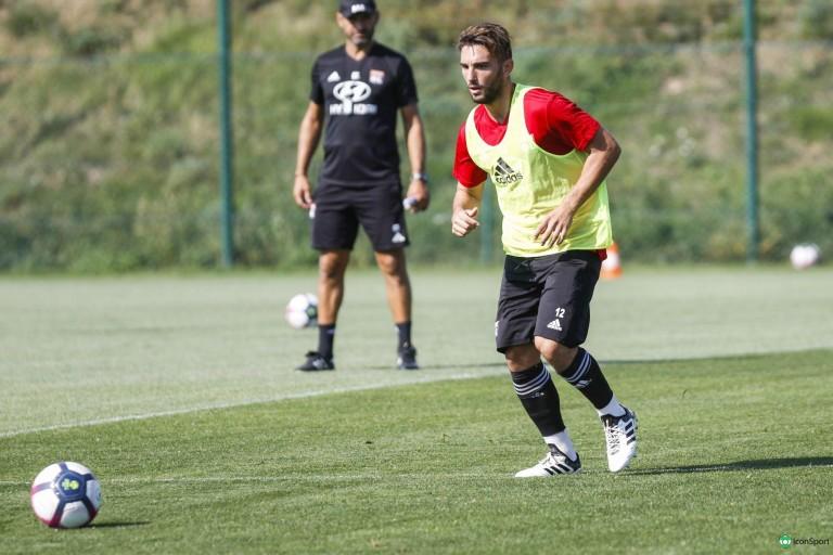 Jordan Ferri, ancien milieu de terrain de l' OL, désormais à Montpellier.