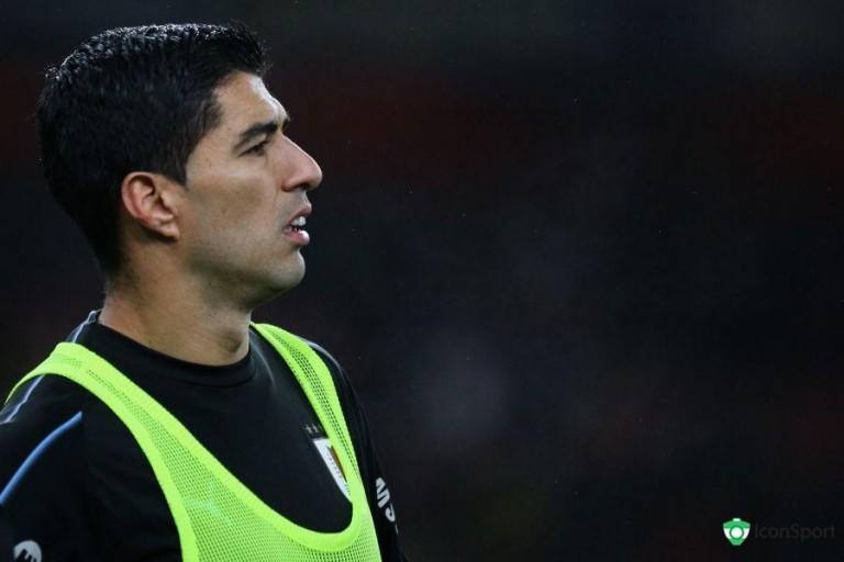Luis Suarez, attaquant uruguayen du Barça.