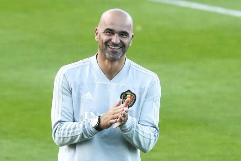Roberto Martinez, sélectionneur de la Belgique.