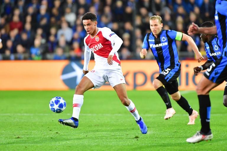 Sofiane Diop, milieu offensif de l'AS Monaco prêté au FC Sochaux.