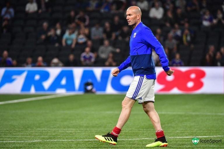 Zinedine Zidane, ex entraineur du Real Madrid.