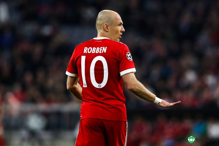 Arjen Robben raccroche les crampons.