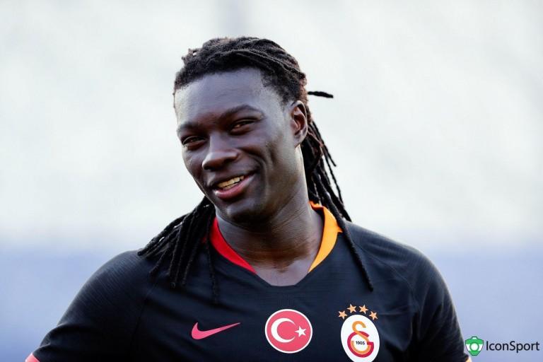 Bafétimbi Gomis, ancien attaquant de l' ASSE.