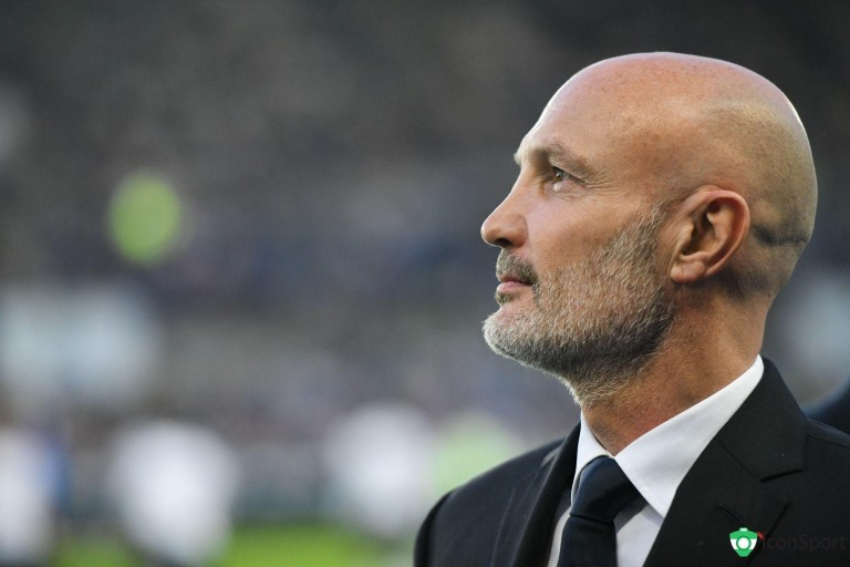 Frank Leboeuf, consultant sur RMC Sport.
