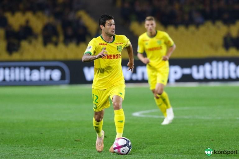 Gabriel Boschilia, attaquant de l'AS Monaco prêté au FC Nantes.